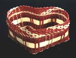 DVD502 Valentine's Day Heart Basket